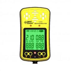 Анализатор кислорода, угарного газа, сероводорода и горючих газов в воздухе AS8900