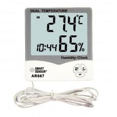 Настольный влагомер-термометр AR867
